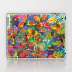 Colorful Autumn Leaves Digital Painting Laptop & iPad Skin