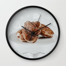 Food for Thought Wall Clock