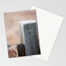 Fence Post III Stationery Cards