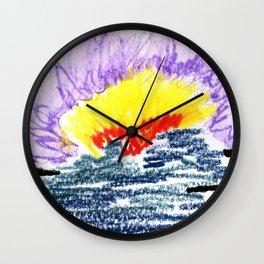 here comes the sun II Wall Clock
