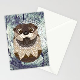 Ornate Otter Stationery Cards