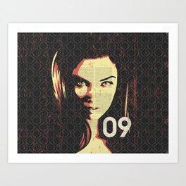 Fashion Woman Art Print