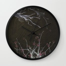 Winter ends Wall Clock