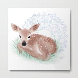 As The Deer Metal Print
