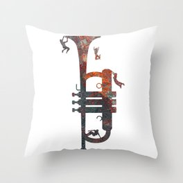 Jazzed Throw Pillow