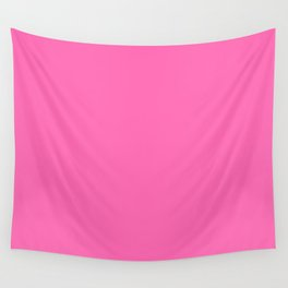 Hot Pink Wall Tapestry
