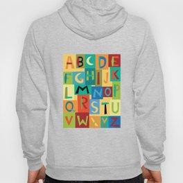 Papercut Alphabet Hoody