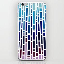 Blue Rain iPhone Skin