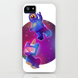 Benny & Unikitty iPhone Case
