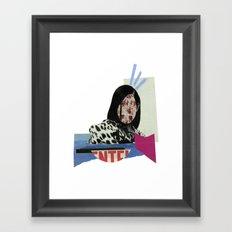 stunned Framed Art Print