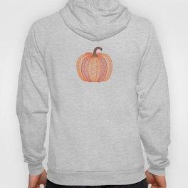 Patterned Pumpkin Hoody