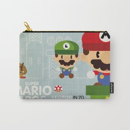 mario bros 2 fan art Carry-All Pouch