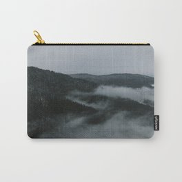 Foggy Mountain Morning Carry-All Pouch
