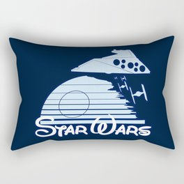 Welcome to the new family friendly Star Wars Empire! Rectangular Pillow
