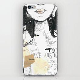 2014 Sketch Book Series #001 iPhone Skin