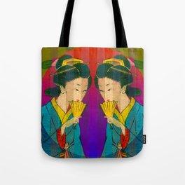 2 Geishas Tote Bag