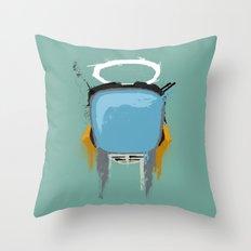 The Robot Throw Pillow
