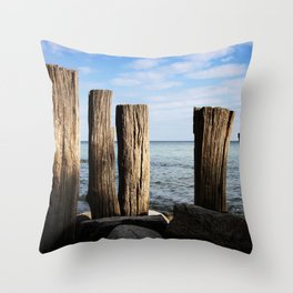 Cape Arkona Throw Pillow