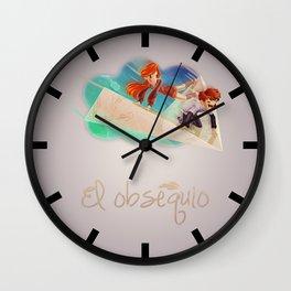 Flying Around Wall Clock