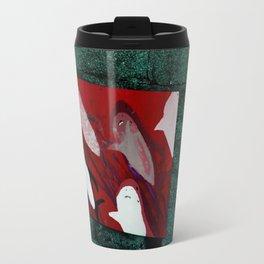 red sharks Travel Mug