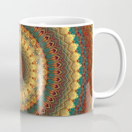 Earth Mandala 6 Coffee Mug