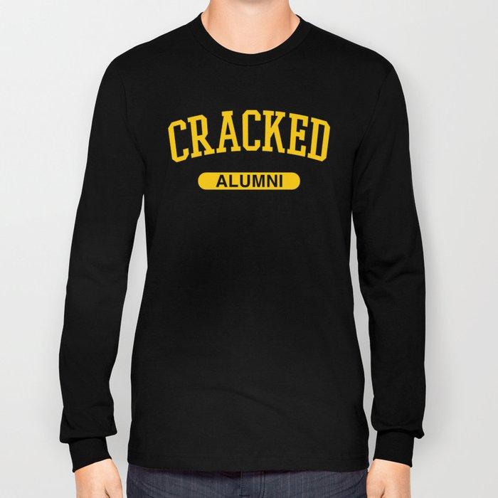 Cracked Alumni Long Sleeve T-shirt