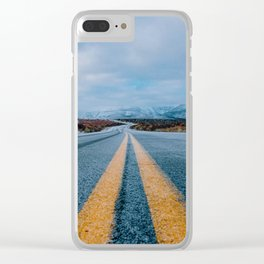 The Road (Color) Clear iPhone Case