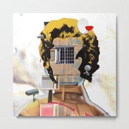 Rebuild Marilyn´s Head - THE ICON Metal Print