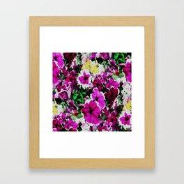 Embroidered Love... Framed Art Print