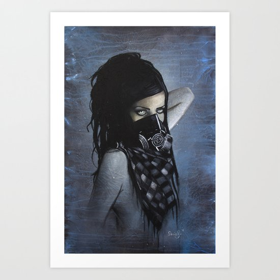 Nicole Lazuli Art Print