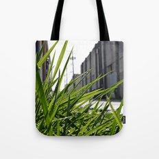 Alleyway vegetation Tote Bag