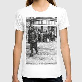 Street santa T-shirt