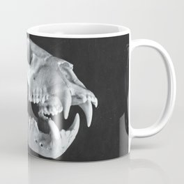 Bear Skull Still Life Coffee Mug
