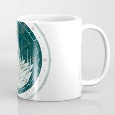 White Dahlia Mug