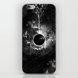 Space & Time iPhone Skin
