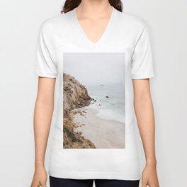 malibu coast / california Unisex V-Neck