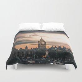 London England Cityscape (Color) Duvet Cover