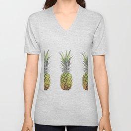 New pineapples Unisex V-Neck