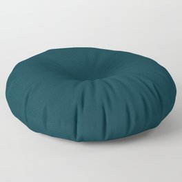 Simply Solid - Peacock Blue Floor Pillow