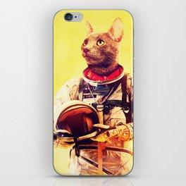 Captain Cat iPhone Skin