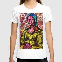 mona lisa T-shirts featuring Mona Lisa by Alec Goss
