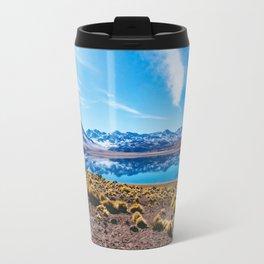 Laguna Miñiques, San Pedro de Atacama Desert, Chile Travel Mug