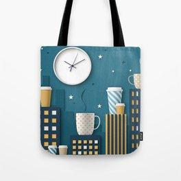 Coffee Night Tote Bag