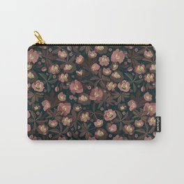 Moody helleborus | blush brown Carry-All Pouch