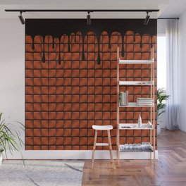 Dripping Chocolate Bar Wall Mural
