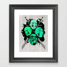 The Mara Framed Art Print