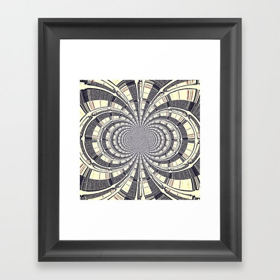 KALEIDOSCOPIQUE Framed Art Print
