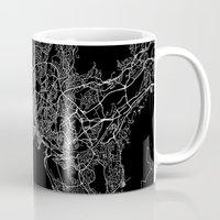 oslo Mugs featuring Oslo by Line Line Lines