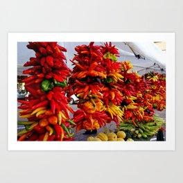 Pepper Tree Art Print