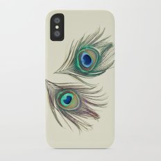 Eyes iPhone X Slim Case